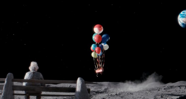 Balloons on the moon